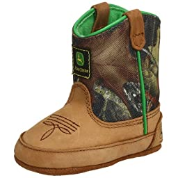 John Deere 188 Western Boot (Infant/Toddler),Camouflage,4 M US Toddler