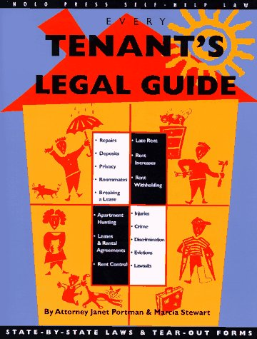 Every Tenant's Legal Guide (Nolo Press Self-Help Law)