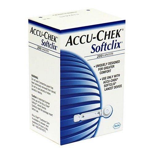 Accu Chek Accu-Chek Softclix Sterile Lancets (200 Lancets)