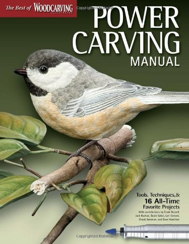 Power Carving Manual (Best of Wci): Tools, Techniques, and 16 All-Time Favorite Projects (Best of Woodcarving Illustratd)
