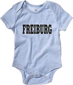 Cotton Island - Baby Bodysuit WC0806 FREIBURG GERMANY CITY