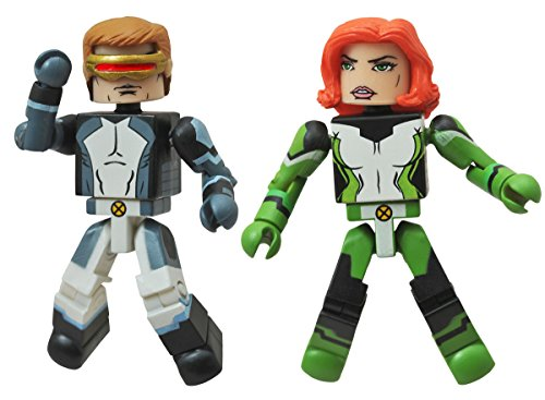 Marvel Minimates All New X-Men Series 59 Mini Figure 2-Pack Cyclops & Marvel Girl - 1