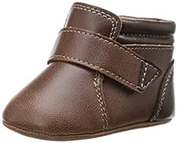 Natural Steps Lil Everest Monk Strap Crib Shoe (Infant), Brown, 3 M US Infant
