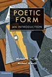Poetic Form: An Introduction (0521774993) by Hurley, Michael D.