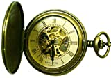 Mens Stainless Pocket Watch by Bariloche Pocket Watches 67528ATG-W2