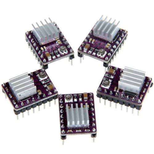 5x StepStick DRV8825 Stepper Motor Driver Module for 3D Printer Reprap RP A4988 from Electroic Modules