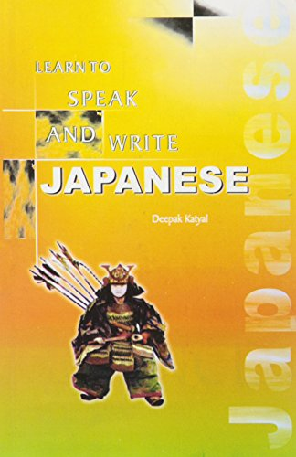 How to write and speak in japanese