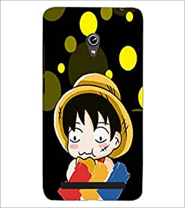 PrintDhaba Cartoon D-4477 Back Case Cover for ASUS ZENFONE 6 A601CG (Multi-Coloured)