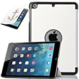 ULAK PU Leather Case for Apple iPad Mini and the New iPad Mini 2 with Retina Display(2nd Generation)Slim-Fit Smart Case Cover with Auto Sleep/Wake Function (YOU MAKE ME HOME)