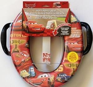 Disney Pixar Cars Soft Potty Seat with hook & handles