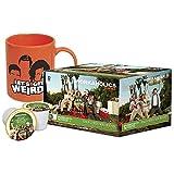 Workaholics: Half Christmas Hazelnut Coffee x Get Weird Mug Bundle