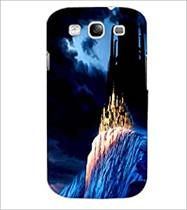 PrintDhaba Mysterious Castle D-1194 Back Case Cover for SAMSUNG GALAXY S3 (Multi-Coloured)