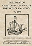 img - for The Diario of Christopher Columbus's First Voyage to America, 1492 1493 (American Exploration and Travel Series) book / textbook / text book