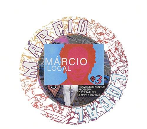 CD : Márcio Local - Three Inches Of Music Series (CD)