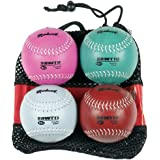 Markwort 12-Inch Softball Weighted Set (9, 10 , 11 And 12 Oz), 12 Inch/multicolor