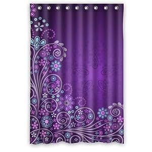 generic personalized purple flower pattern