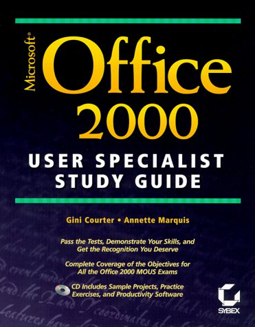 Microsoft Office 2000 User Specialist Study Guide