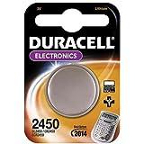 """DURACELL Lot de 2 Piles bouton lithium """"Electronics"""", CR2450, 3 volt"""