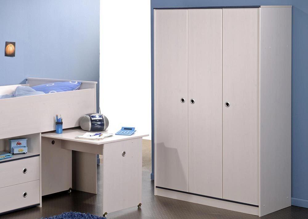 Jumbo-Möbel Kleiderschrank SMOOZY 12 in Weiß & Pink oder Blau, B: 116 cm online kaufen