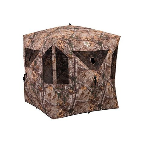 Evolved Ingenuity 1RX3H013B Hub Ground Blind, Camouflage, 59 x 59 x 67-In.