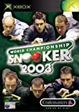World Championship Snooker 2003 (Xbox)