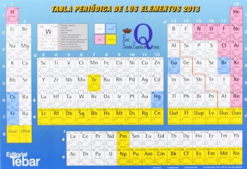 Tabla periódica de los elementos 2013