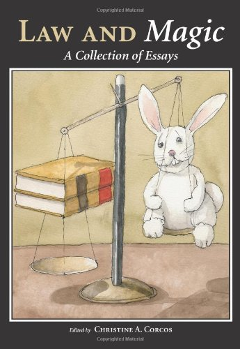 law and magic a collection of essays Law and magic: a collection of essays (2010-01-30): unknown author: books - amazonca amazonca try prime books go search en hello sign in your.