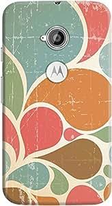 DailyObjects Retro Escape Pattern Case For Motorola Moto E2
