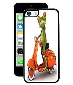 Fuson 2D Printed Funny Cartoon Designer Back Case Cover for Apple iPhone 5C - D822