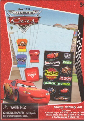 Disney Pixar The World of CARS stamp activity set - 1