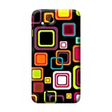 Garmor Seamless Colorful Design Plastic Back Cover For HTC Desire VC (Seamless Colorful - 2)