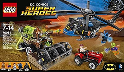 LEGO Super Heroes 76054 Batman: Scarecrow Harvest of Fear Building Kit (563 Piece) from LEGO