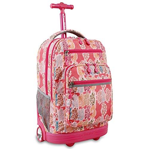 j-world-new-york-sundance-laptop-rolling-backpack-pink-forest