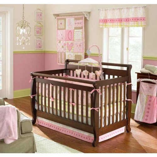 Laura Ashley Love 6 Piece Crib Set