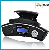Steering Wheel Bluetooth handsfree speakerphone Car MP3 player FM transmitter