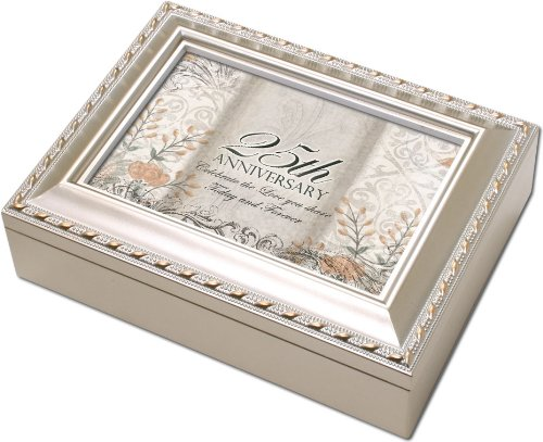 25th Anniversary Gift Music Box MB1385C