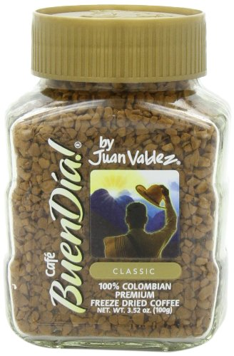 Buendia by Juan Valdez Classic 100% Colombian Freeze Dried  Coffee,  3.52 oz.  (Pack of 3) (Juan Valdez Coffee Beans compare prices)