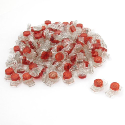 100-pcs-data-phone-wire-butt-splice-3-ports-ur-connectors-red-clear