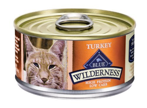 BLUE Buffalo Wilderness Turkey Recipe For Adult Cats