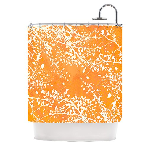 Best Tangerine Shower Curtain – Tangerine Orange Bathroom Decor |