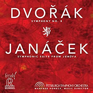 Dvorak: Symphony No. 8 - Janacek: Jenufa Suite