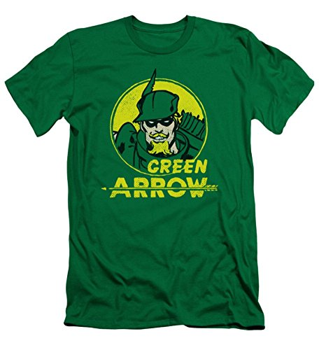 DC Green Arrow Archer Circle Slim Fit T-Shirt