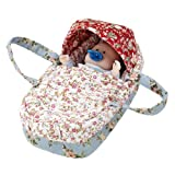 Baby ALBERT BASKET Albert Baby Doll with Carrycot