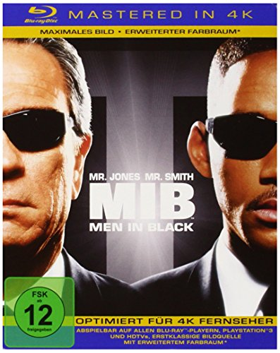 Men In Black (4K Mastered) [Blu-ray]