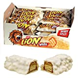 Limited Edition LION WHITE CHOCOLATE Bar by Nestle - Full box of 40 x 43g Bars