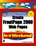 Create FrontPage 2000 Web Pages in a...