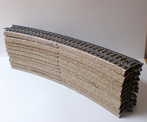 Mrklin-5200-Gebogenes-Gleis-4374-mm