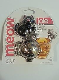 Joie Meow Cat Kitten Tea Cup Infuser, Black