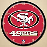 San Francisco 49ers 12′ Round Wall Clock