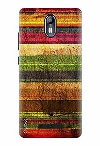 For Micromax Canvas Evok, Noise Designer Printed Case / Cover for Micromax Canvas Evok E483 / Patterns & Ethnic / Stripes Design